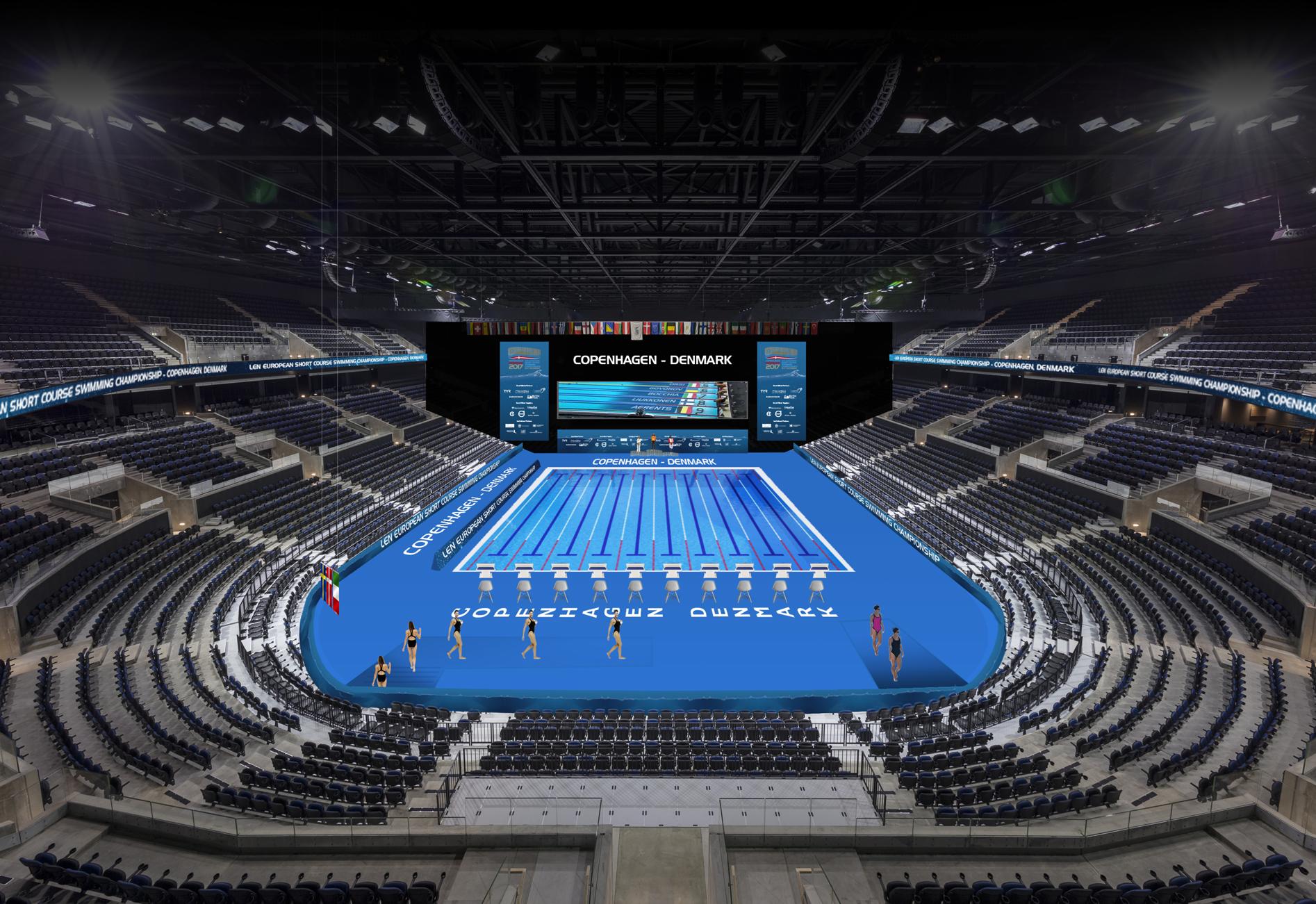 Nyhed A Fantastic Transformation In Royal Arena Dansk Svømmeunion