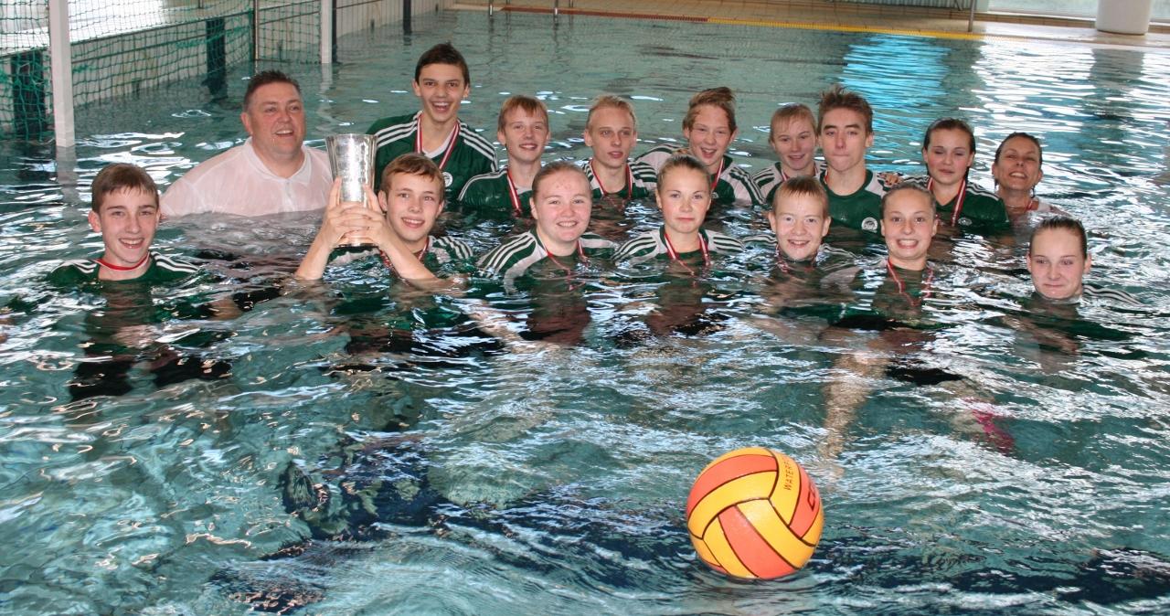 Tommerup vandpolo vinder U15 DM 2013
