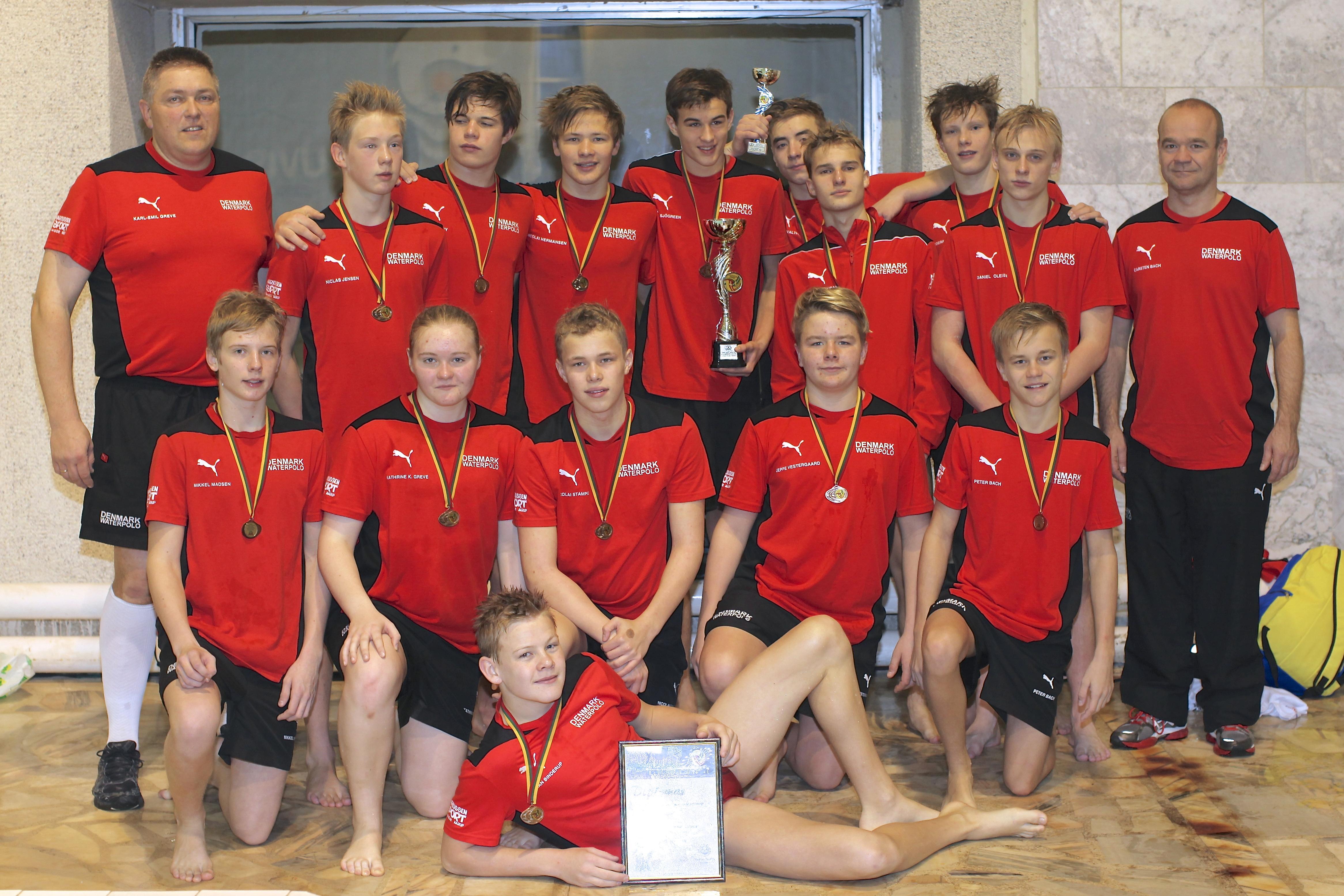 U15 vandpololandsholdet 2013