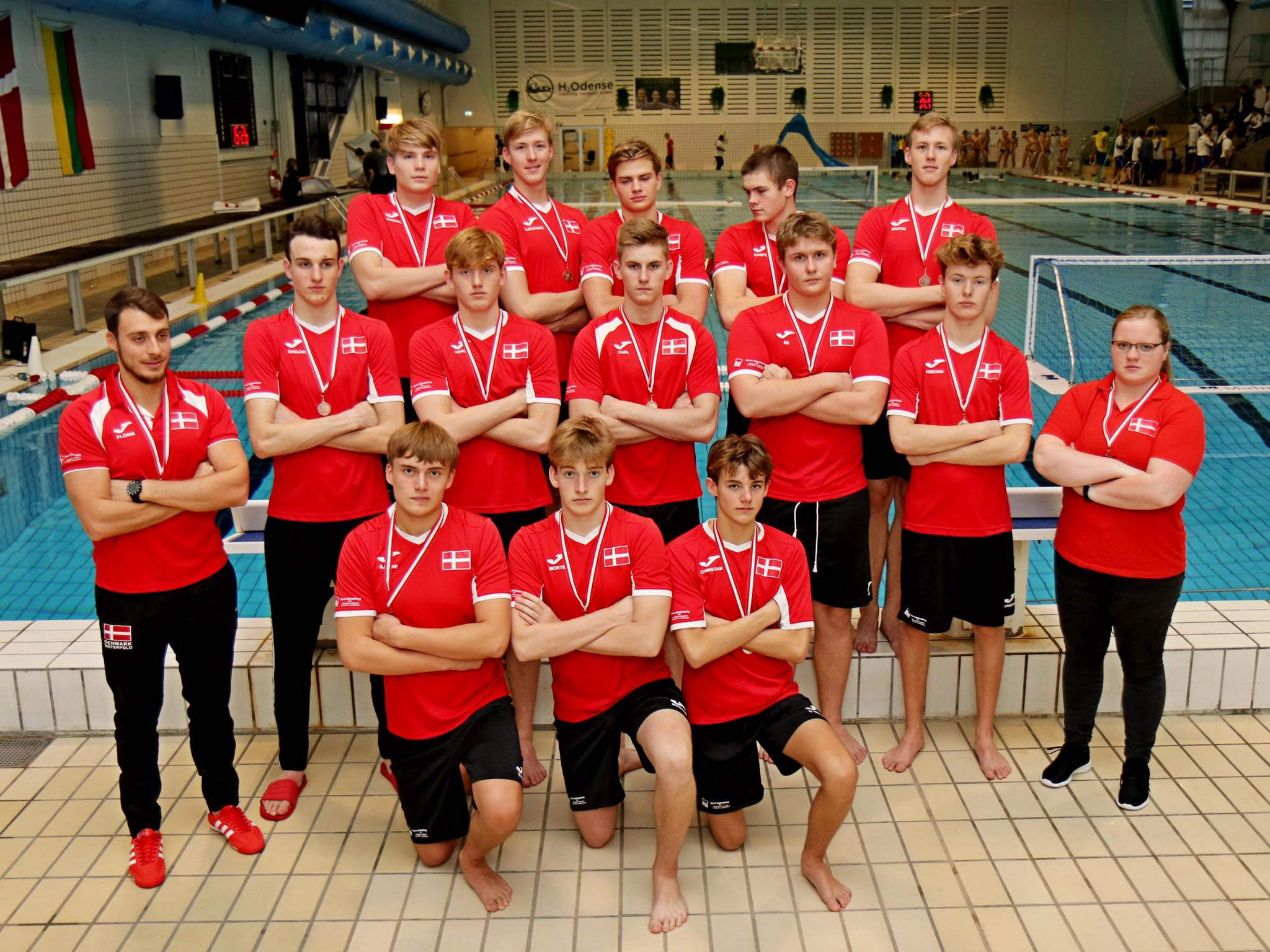 U17 landshold vandpolo drenge